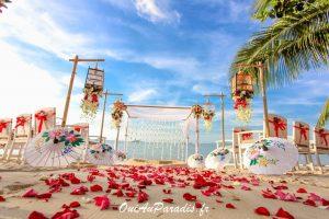 Organisation-Mariage-marier-maries-mariee-ceremonie-Thailande-Plage-ile-Koh-Samui-Island-thai-evenementiel-evenements-demande-fiancailles-EVJF-EVG-noces-voyages-Wedding-ceremony-Planner-Thailand-Beach-Events-event-request-bachelor-bachelorette-groom-bride-bridal-chairs-tables-flowers-candles-chaises-tables-fleurs-bougies-gazebo-82