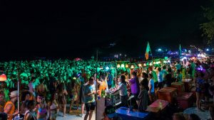 Full Moon party transfert au départ de Koh Samui