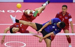 sepak takraw - kick volley - sport- Thaïlande