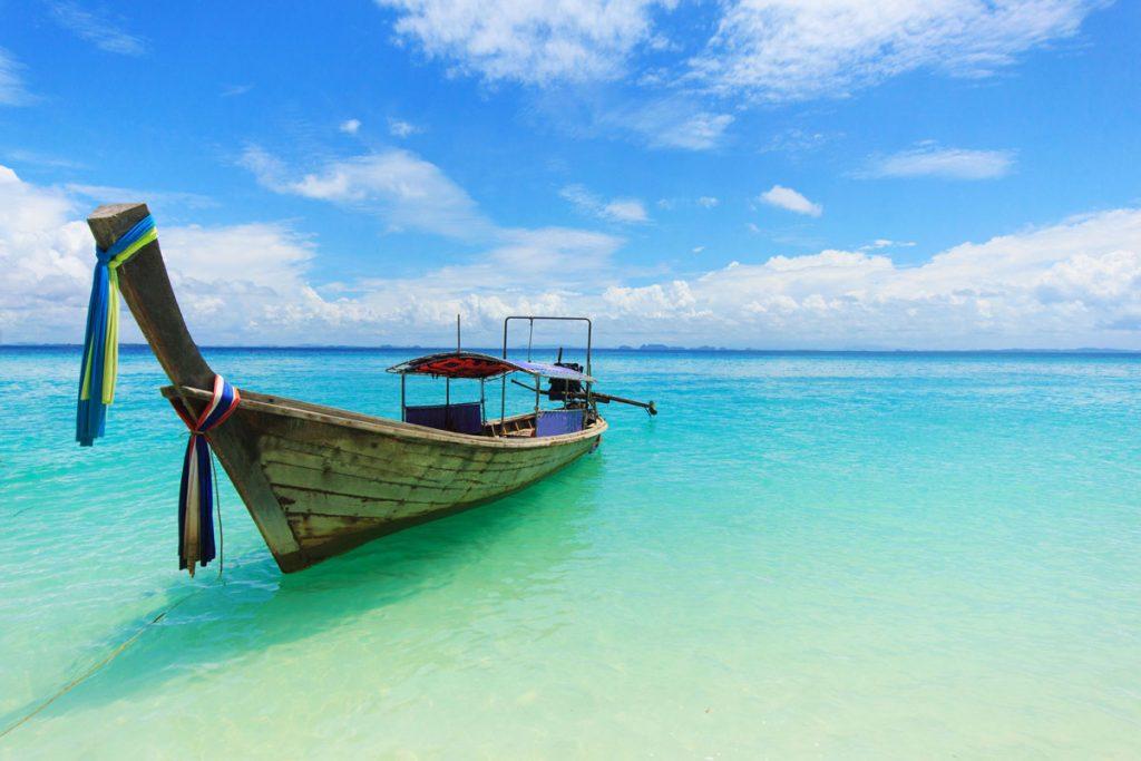 Bateau - longtail - vacances - excursion