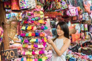 Thaïlande - Marché - Boutique