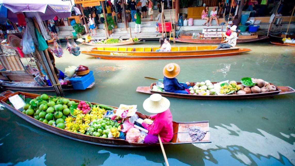 Thaïlande marché