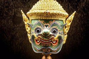 masque Khon - Thaïlande artisanat